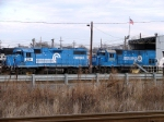 NS 5311 and CSX 1554